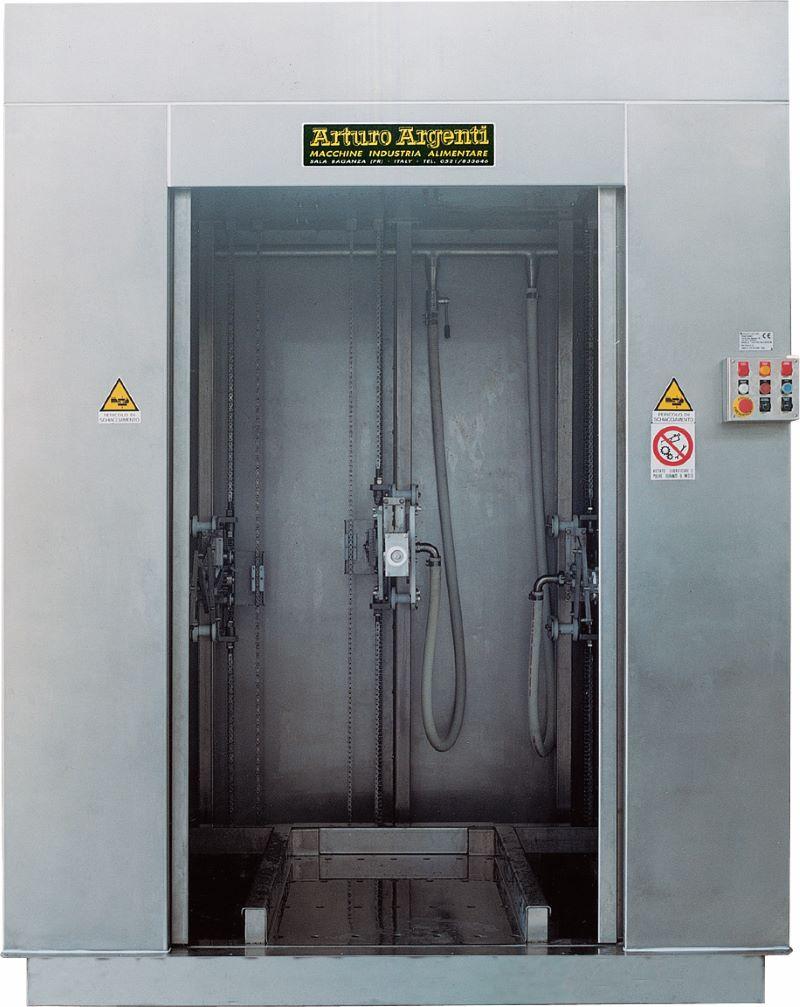 Lavatrice verticale mod. AA/LAV – SC/SR