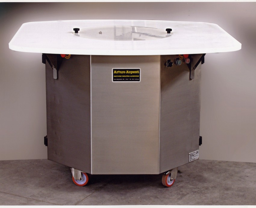 AA-SCR rotating lard heating machine