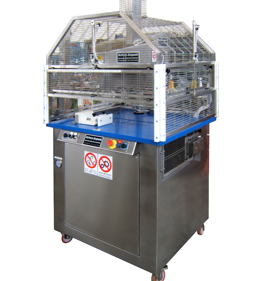 AA-T1L-E Single-blade automatic unloading slicing machine